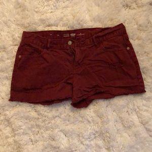 Old Navy Jean shorts.